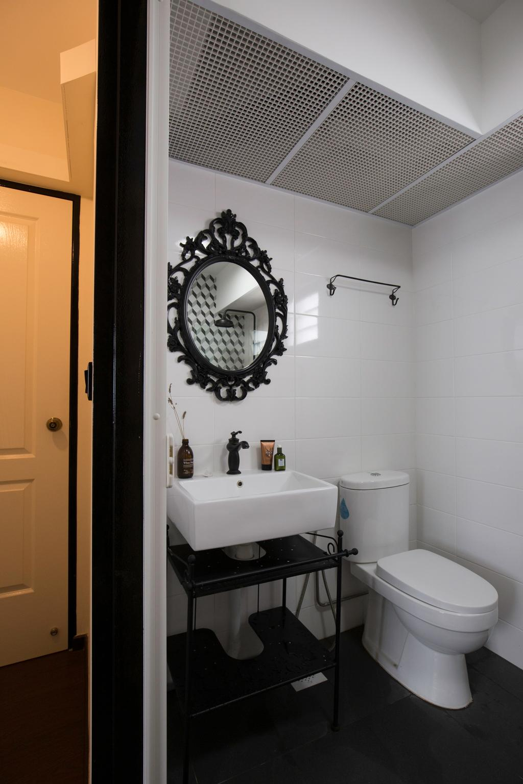 Contemporary, HDB, Bathroom, Keat Hong Link, Interior Designer, Glamour Concept