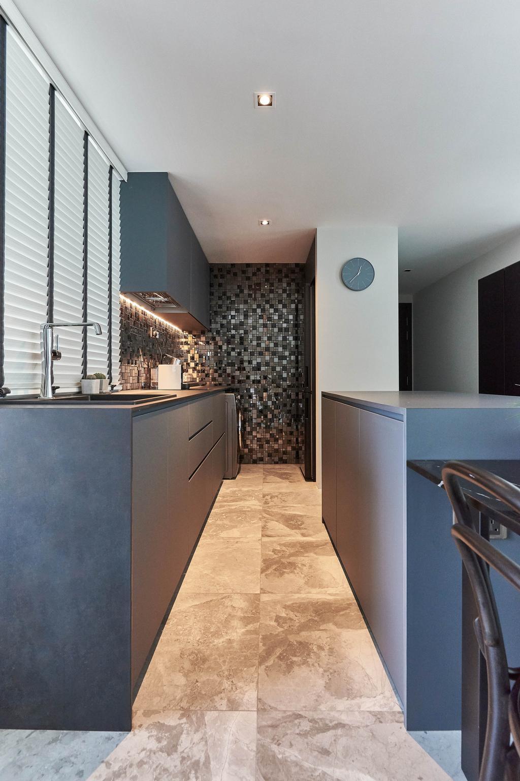 Contemporary, Condo, Kitchen, Parc Emily, Interior Designer, The Roomakers