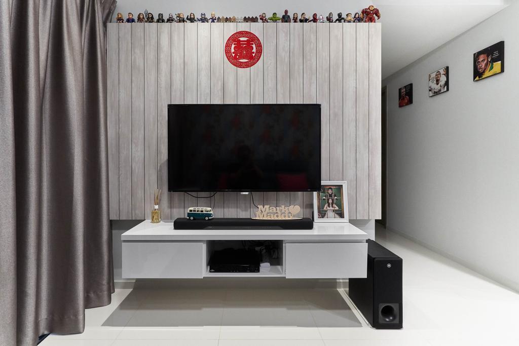 Condo, Living Room, The Terrace, Interior Designer, i-Chapter