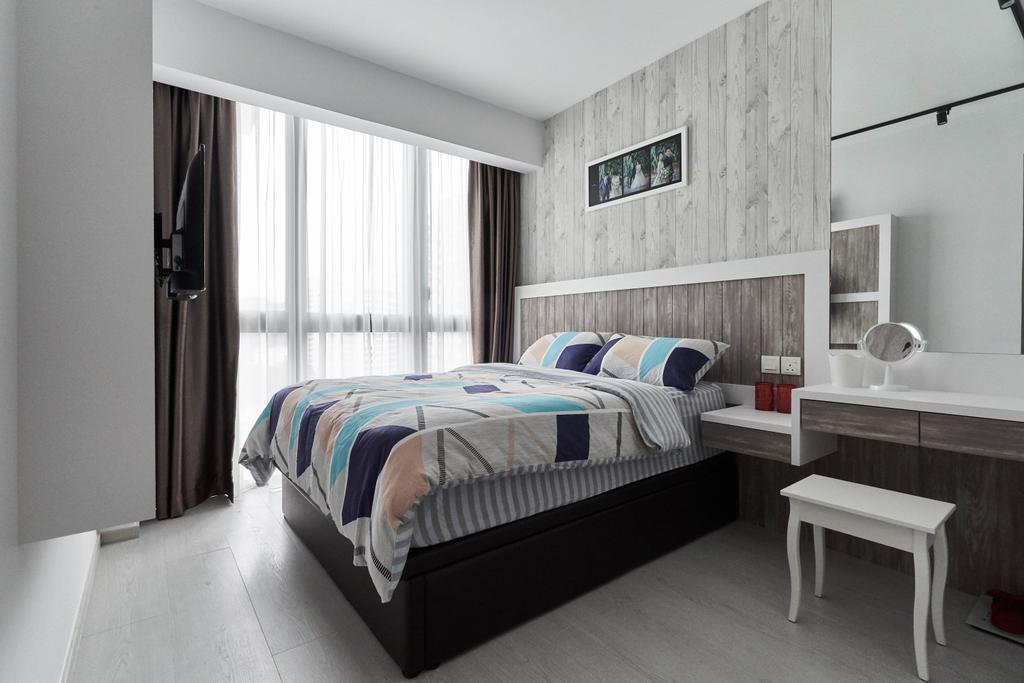 Condo, Bedroom, The Terrace, Interior Designer, i-Chapter