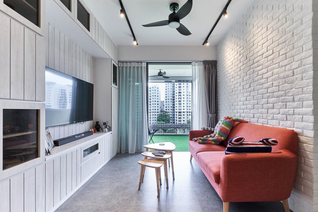 Contemporary, Condo, The Terrace, Interior Designer, i-Chapter
