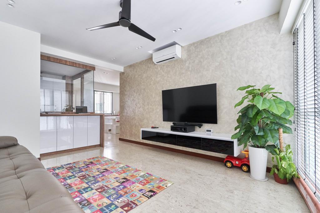 Contemporary, Condo, Living Room, Palm Garden, Interior Designer, Viz Studio