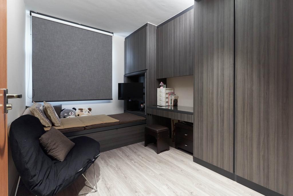 Contemporary, HDB, Study, Keat Hong Close, Interior Designer, Viz Studio