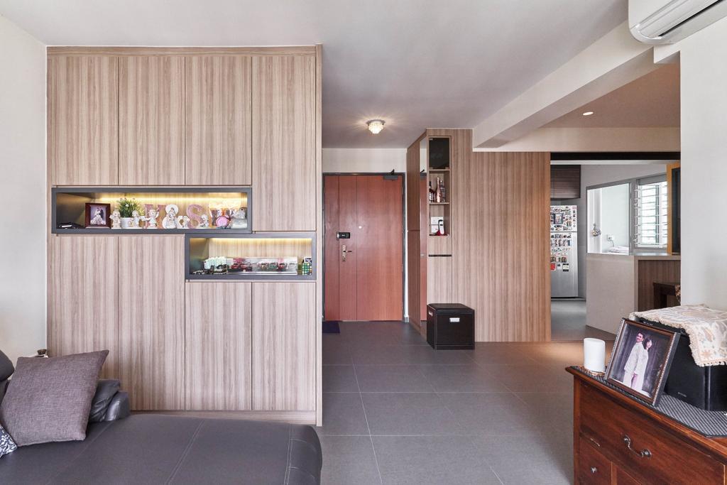 Contemporary, HDB, Living Room, Keat Hong Close, Interior Designer, Viz Studio