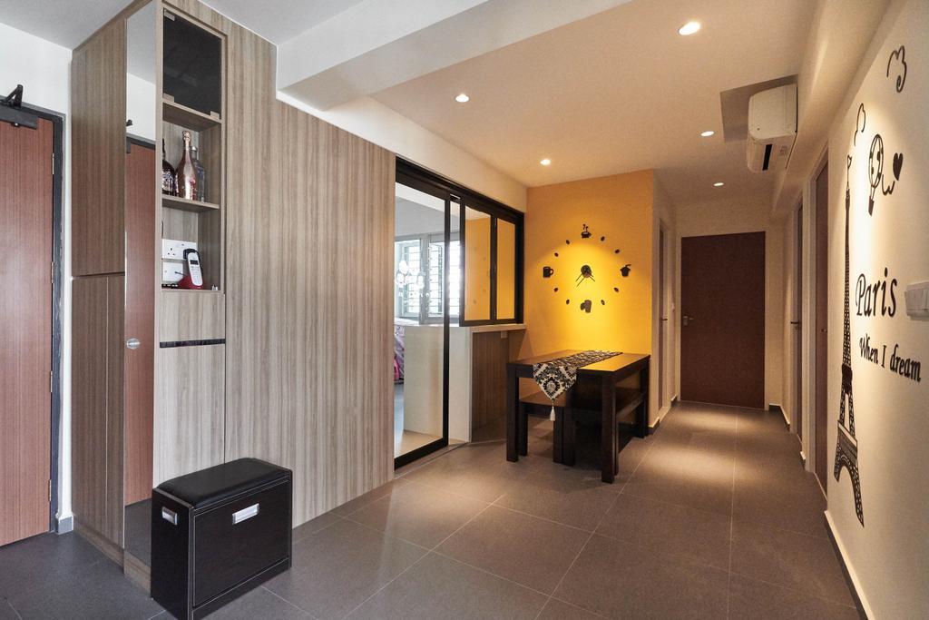 Contemporary, HDB, Dining Room, Keat Hong Close, Interior Designer, Viz Studio