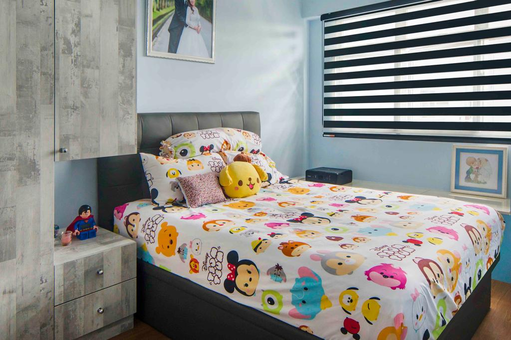 Contemporary, HDB, Bedroom, Yishun, Interior Designer, Cozy Ideas Interior Design