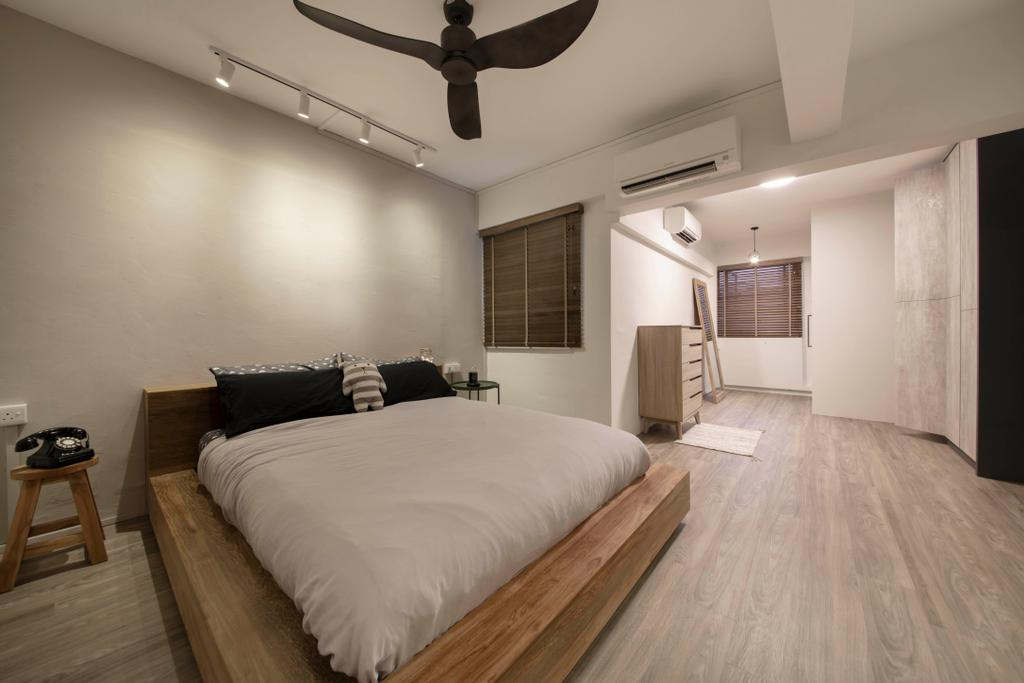 Contemporary, HDB, Bedroom, Clementi Avenue 4, Interior Designer, Starry Homestead