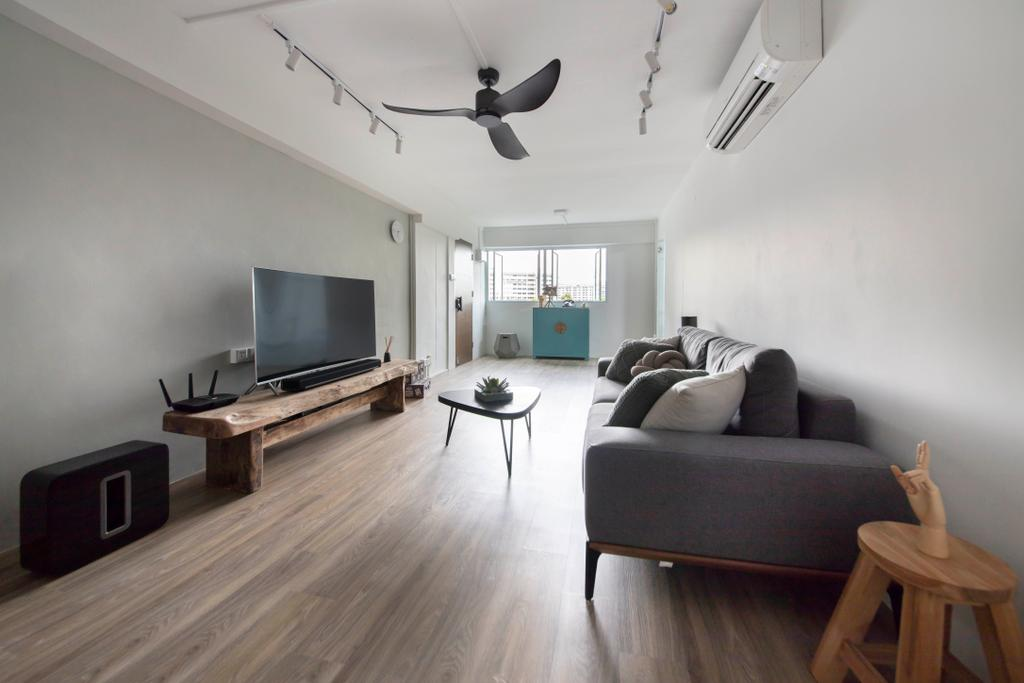 Contemporary, HDB, Living Room, Clementi Avenue 4, Interior Designer, Starry Homestead