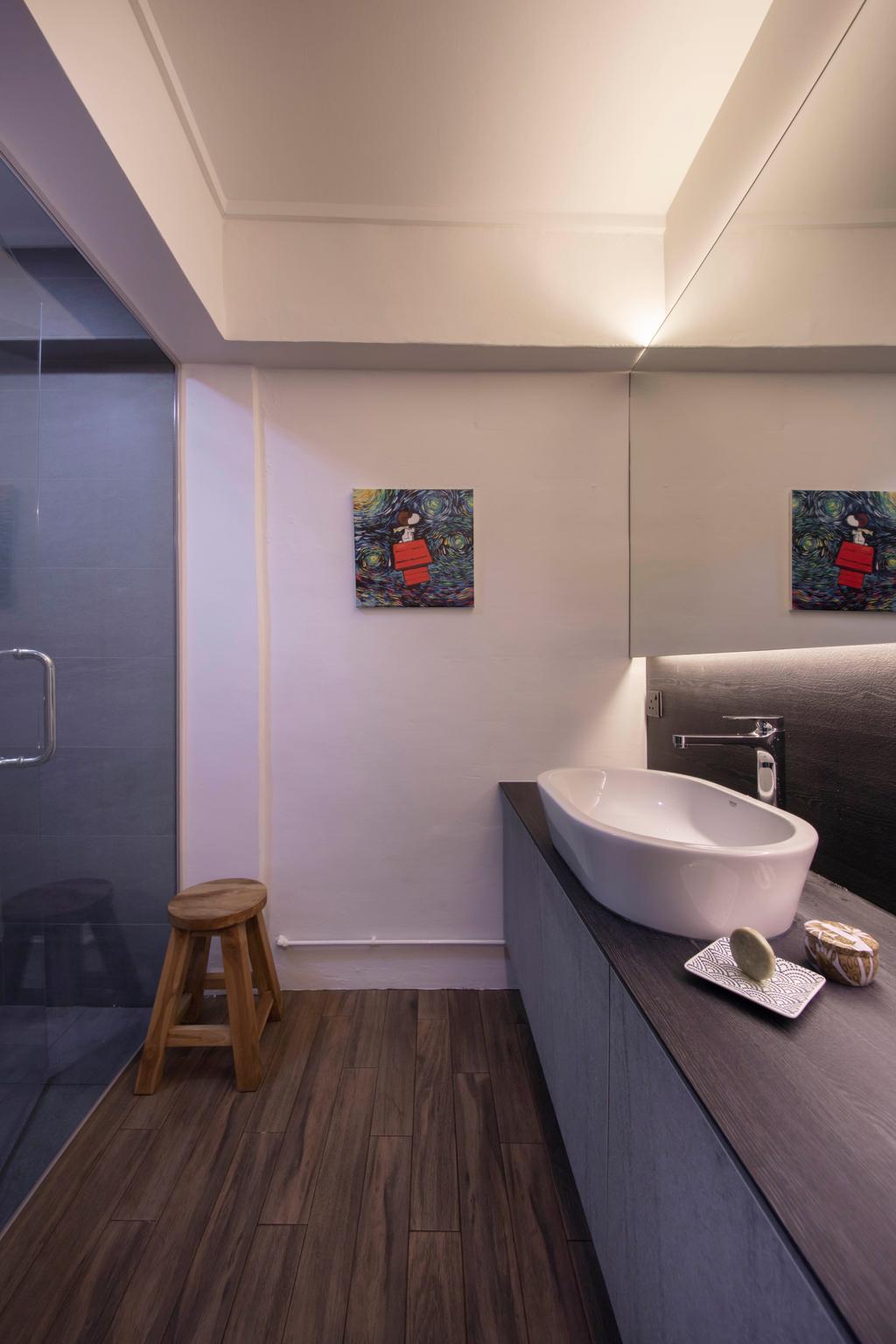 Contemporary, HDB, Clementi Avenue 4, Interior Designer, Starry Homestead
