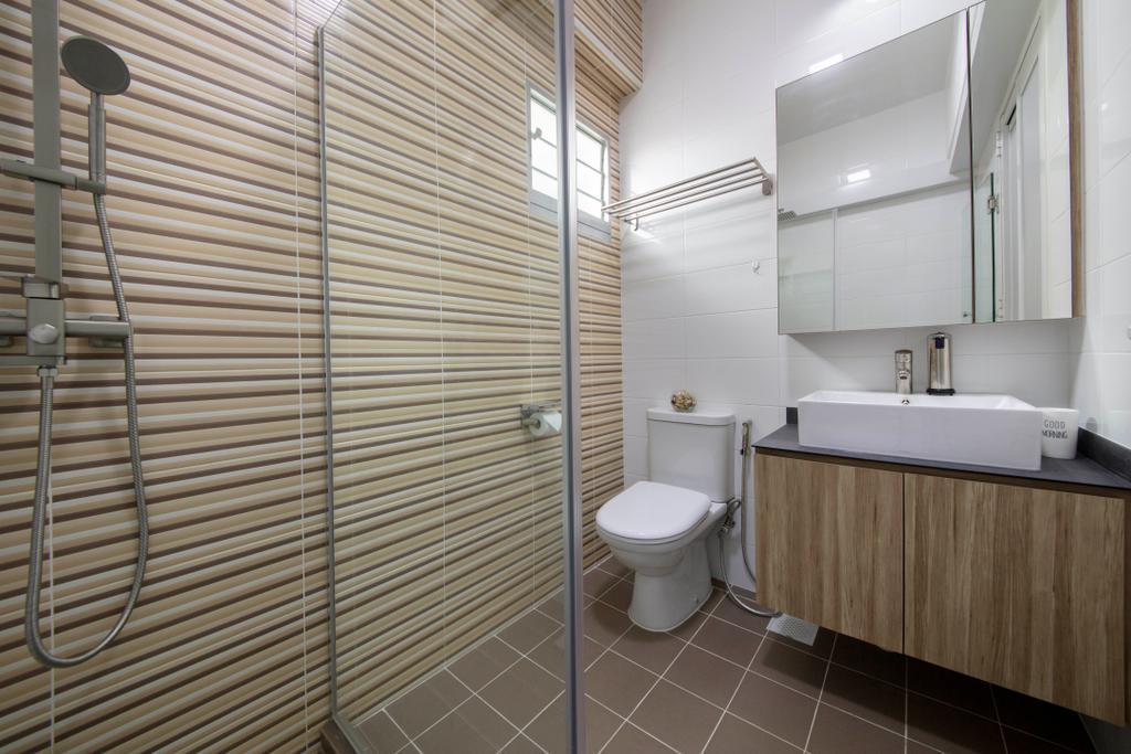 Scandinavian, HDB, Bathroom, Bukit Batok West Avenue 8, Interior Designer, Starry Homestead