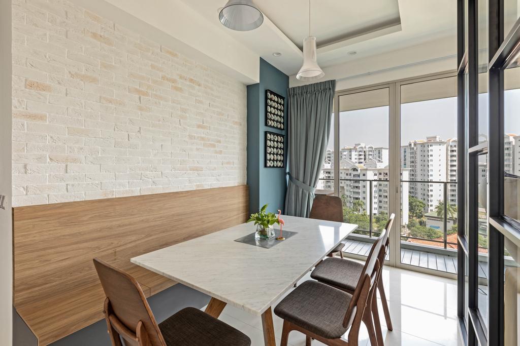 Contemporary, Condo, Dining Room, Livia, Interior Designer, Starry Homestead
