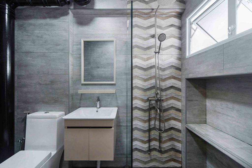Contemporary, HDB, Bathroom, Pasir Ris, Interior Designer, Cozy Ideas Interior Design