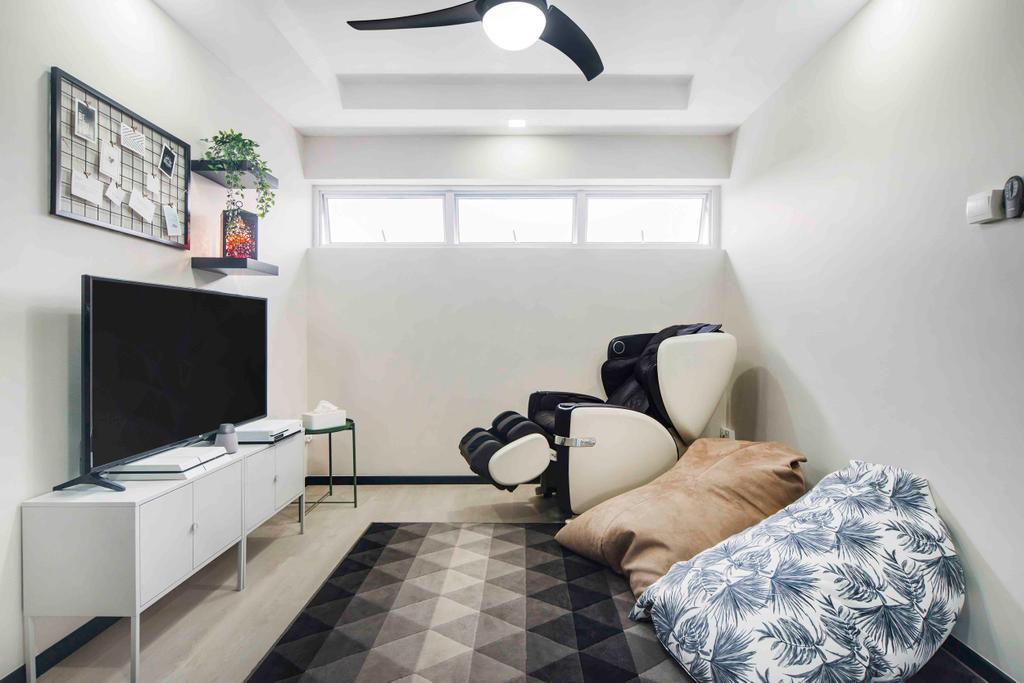Contemporary, HDB, Study, Pasir Ris, Interior Designer, Cozy Ideas Interior Design