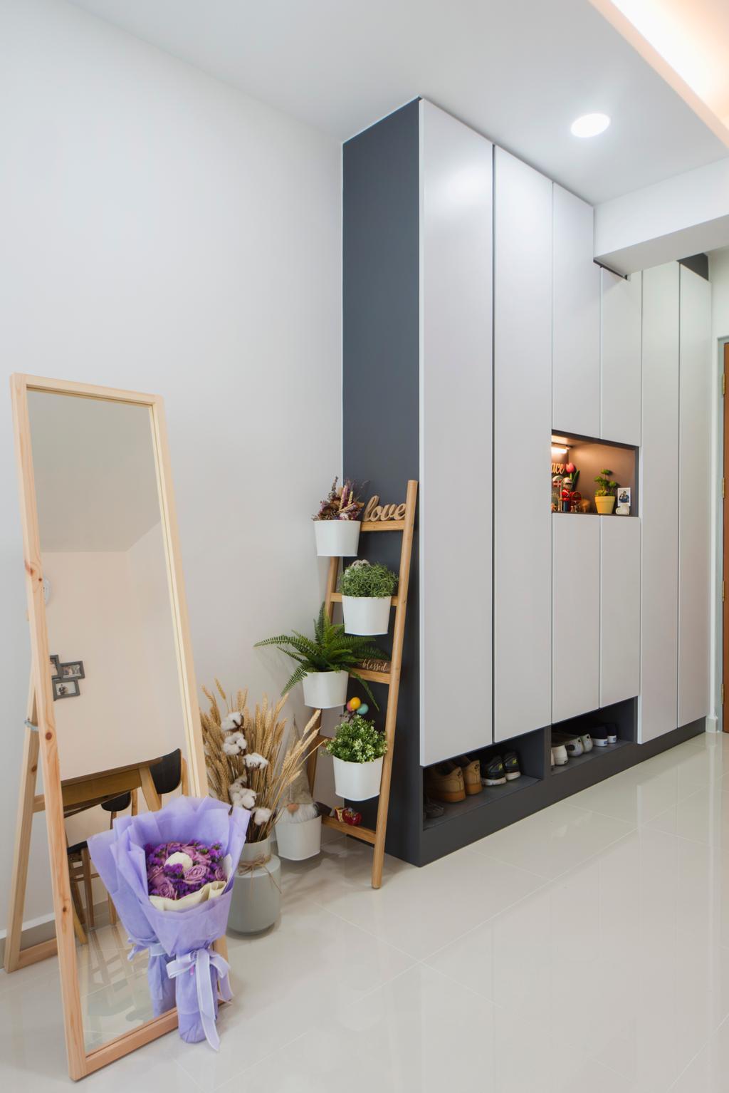 Contemporary, HDB, Living Room, Telok Blangah, Interior Designer, Cozy Ideas Interior Design