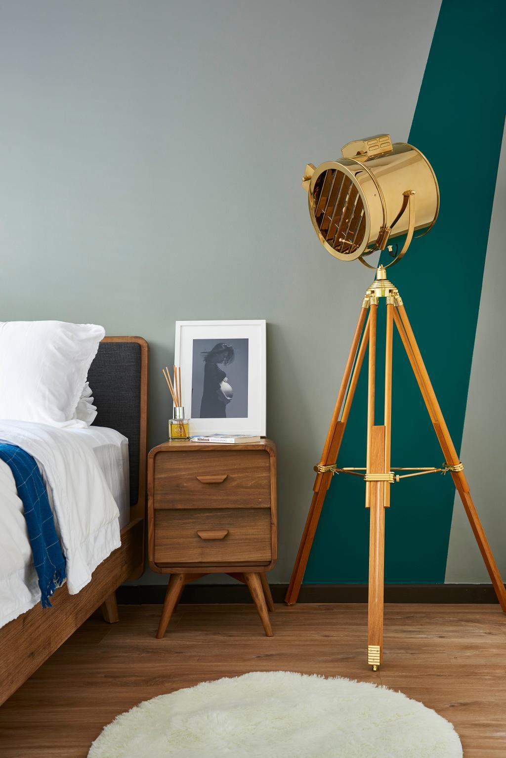 Contemporary, HDB, Bedroom, Telok Blangah Street 31, Interior Designer, Versaform