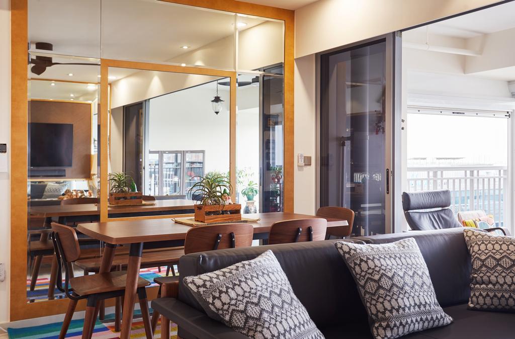 HDB, Dining Room, City View @ Boon Keng, Interior Designer, Minutiae