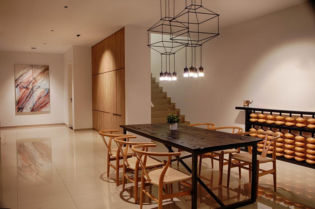 Contemporary, Landed, Dining Room, The Gardens, Interior Designer, Minutiae