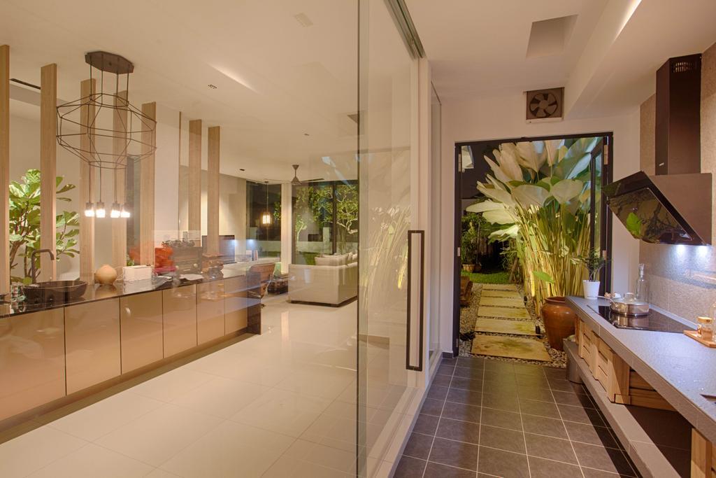 Contemporary, Landed, Kitchen, The Gardens, Interior Designer, Minutiae