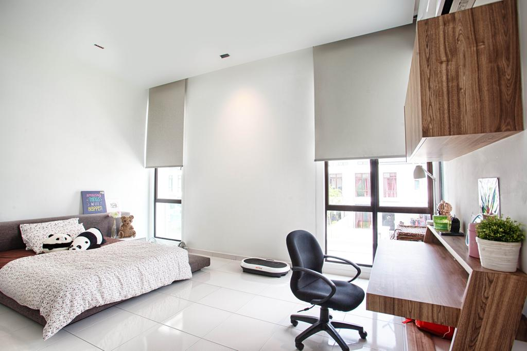 Contemporary, Landed, Bedroom, The Gardens, Interior Designer, Minutiae