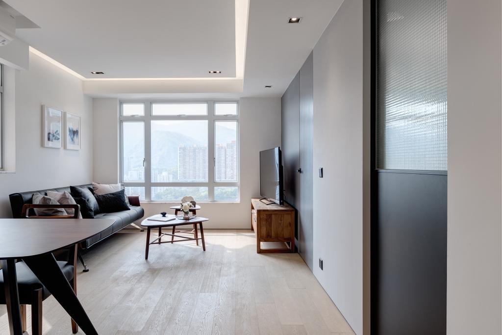 簡約, 私家樓, 客廳, 銀禧花園, 室內設計師, in Him's Interior Design, 摩登