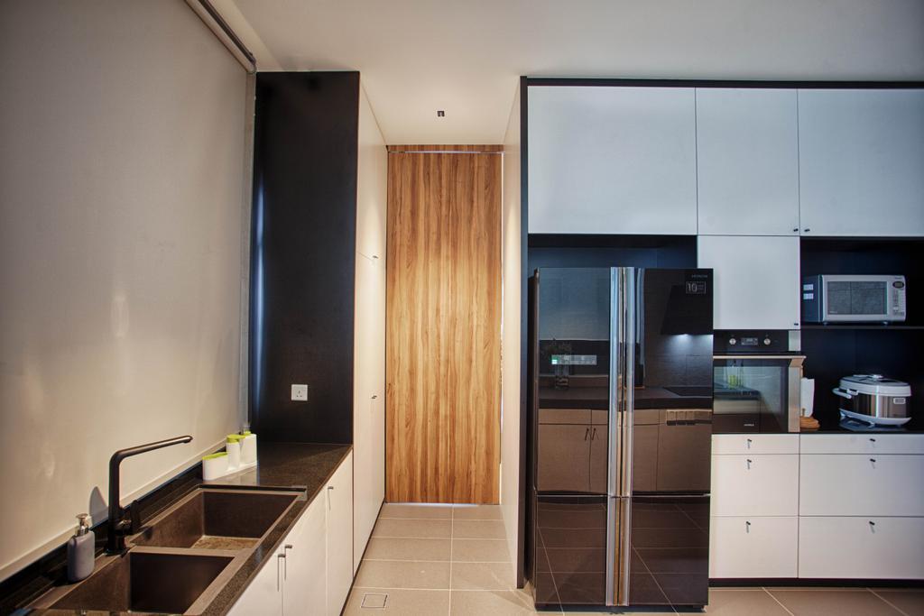 Contemporary, Landed, Kitchen, The Retreat, Interior Designer, Minutiae