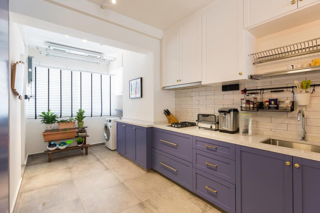 Scandinavian, HDB, Kitchen, Bishan Street 22, Interior Designer, Metamorph Design