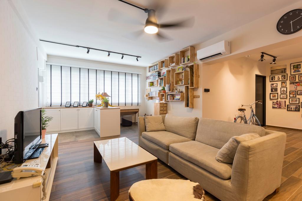 Scandinavian, HDB, Living Room, Bishan Street 22, Interior Designer, Metamorph Design