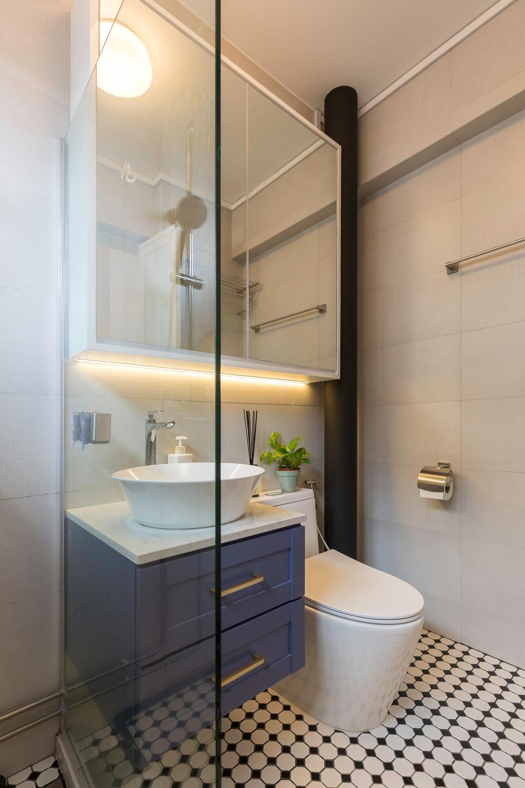 Scandinavian, HDB, Bathroom, Bishan Street 22, Interior Designer, Metamorph Design