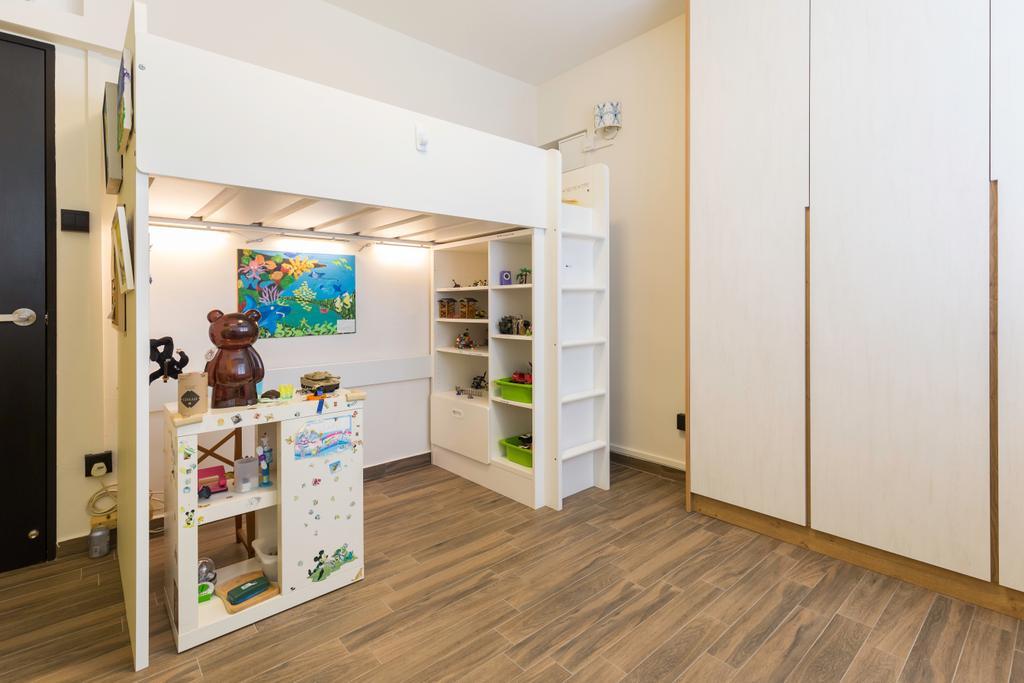 Scandinavian, HDB, Bedroom, Bishan Street 22, Interior Designer, Metamorph Design, Kids Room