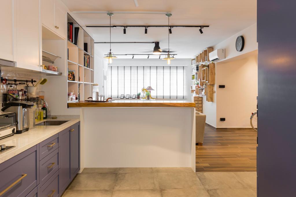 Scandinavian, HDB, Kitchen, Bishan Street 22, Interior Designer, Metamorph Design