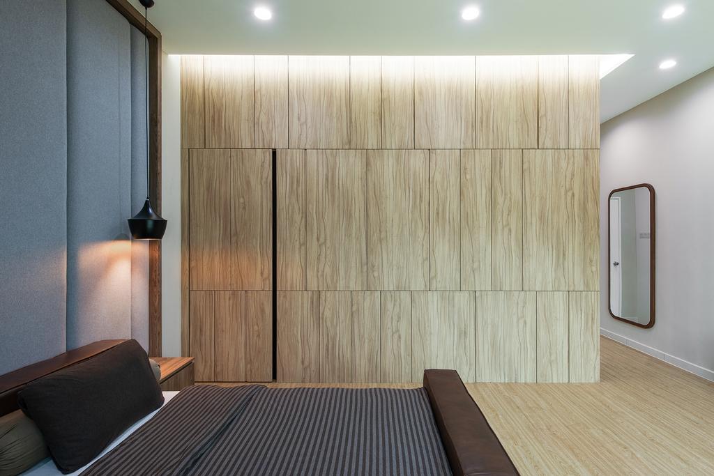 Contemporary, Landed, Bedroom, Springfields Residence, Interior Designer, Pocket Square