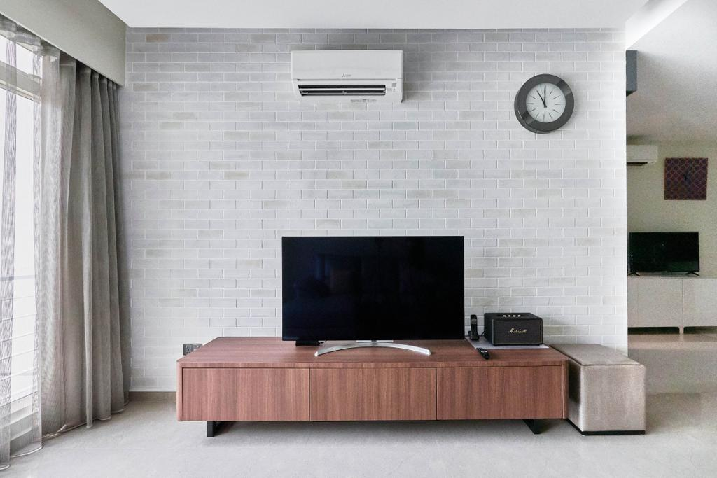 Contemporary, Condo, Living Room, Hillington Green, Interior Designer, Aart Boxx Interior