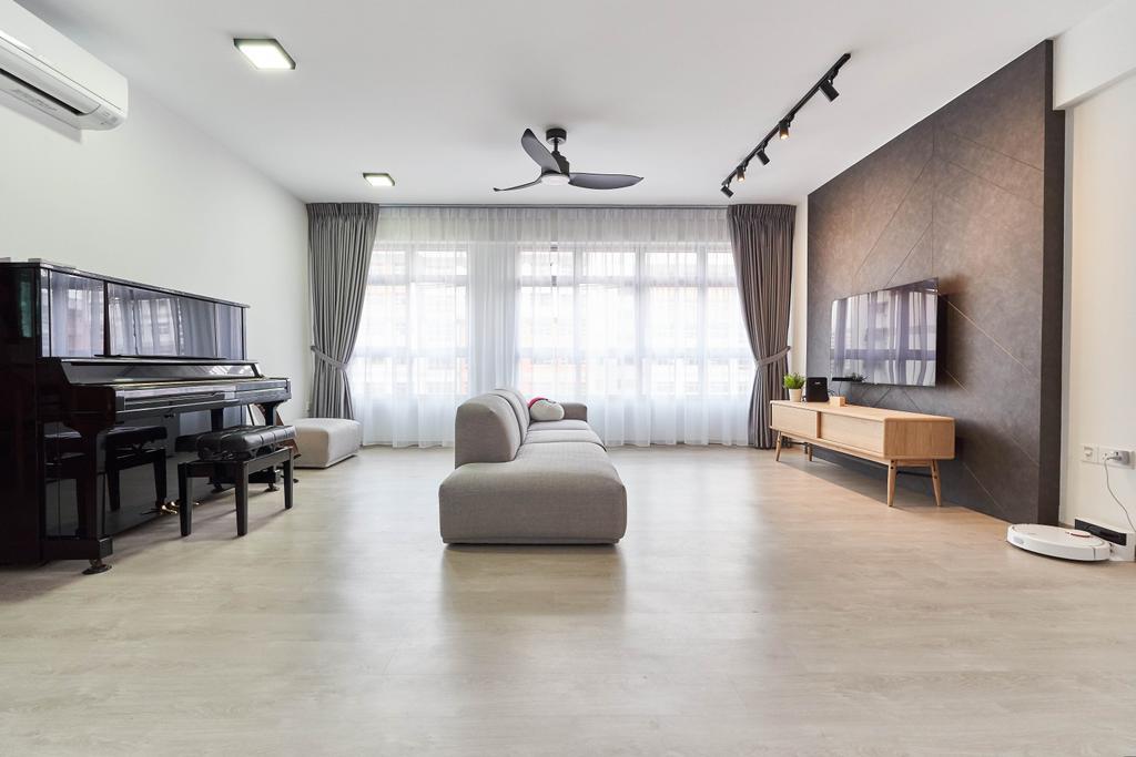 Contemporary, HDB, Living Room, Bukit Batok West Avenue 8, Interior Designer, Zenith Arc