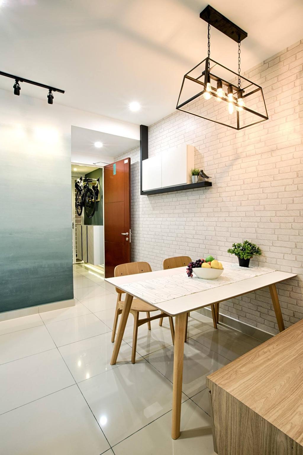 Modern, Condo, Dining Room, Ascenda Residence, Setapak, Interior Designer, GI Design Sdn Bhd, Contemporary