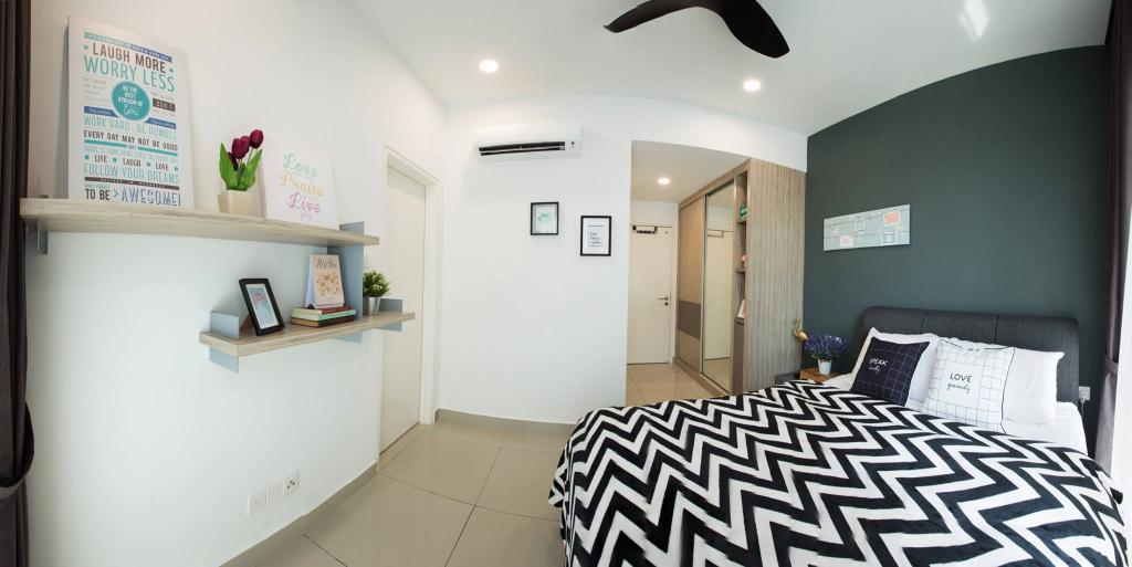 Modern, Condo, Ascenda Residence, Setapak, Interior Designer, GI Design Sdn Bhd, Contemporary