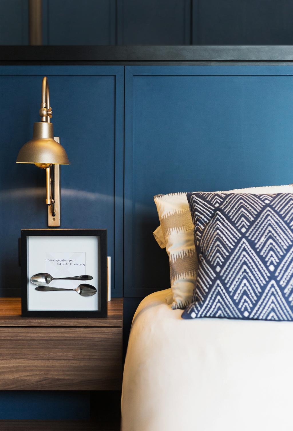Contemporary, Condo, Bedroom, Aspen Heights, Interior Designer, Hall Interiors