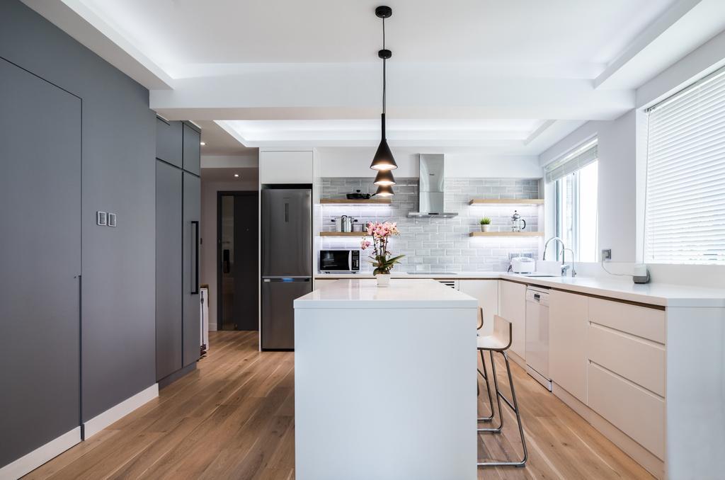摩登, 私家樓, 飯廳, 堅尼地城山市街, 室內設計師, Leehar Home, 當代