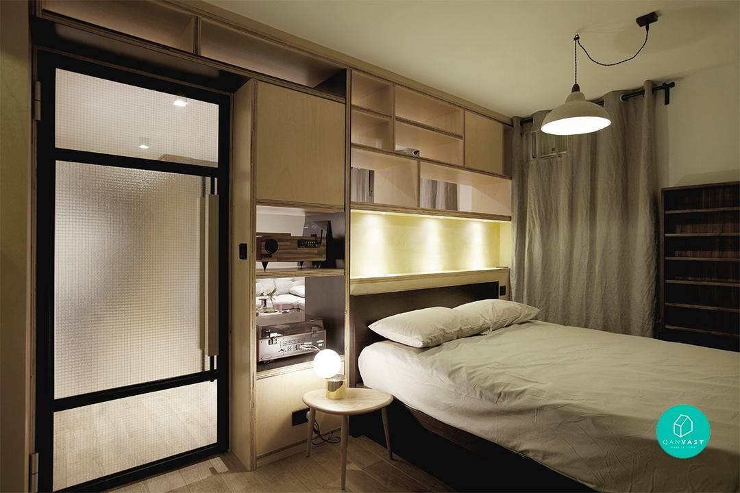 不讓空間限制你:狹小房間設計的五個原則 8