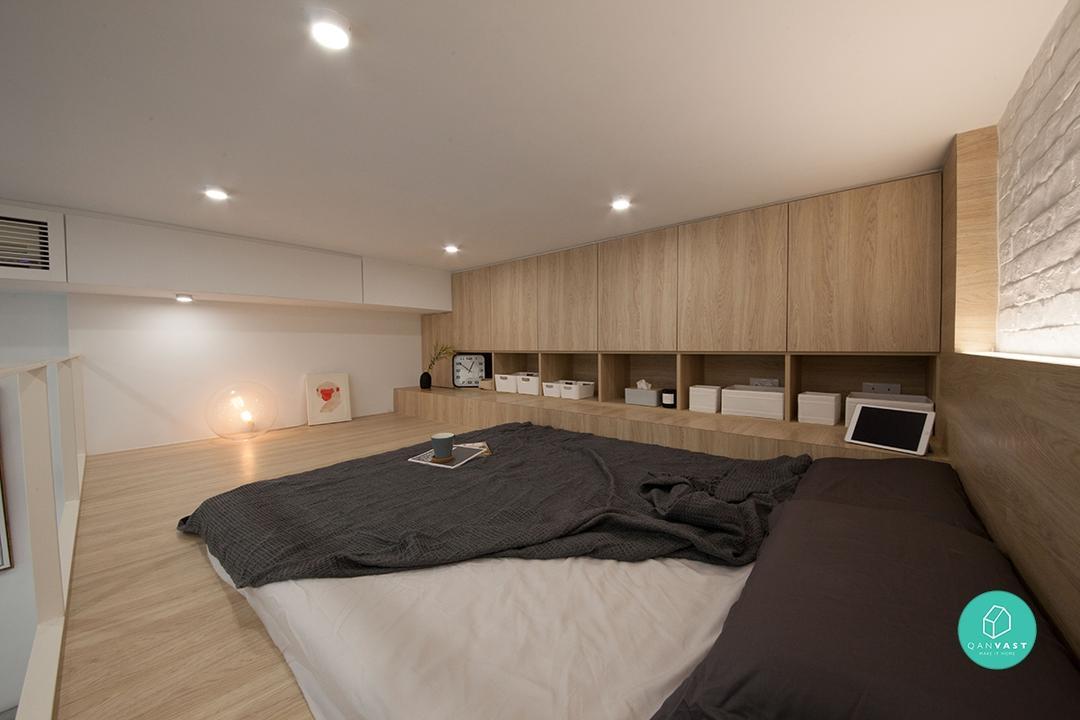 Maximise Any Tiny Home With These 7 Space Saving Loft Ideas Qanvast