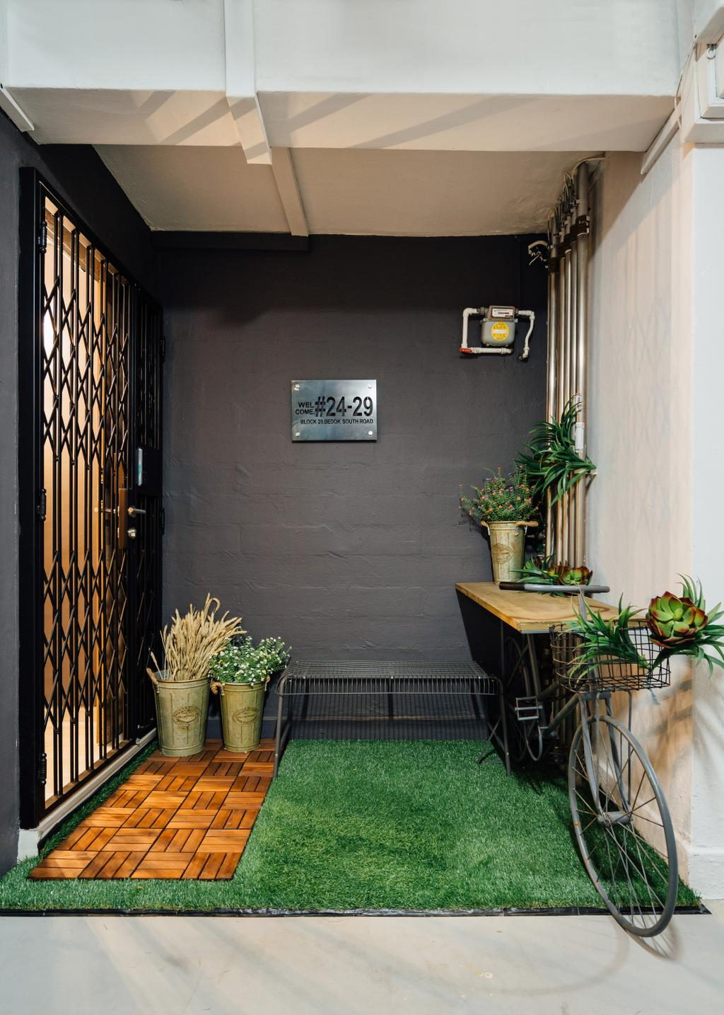 Contemporary, HDB, Bedok South Road, Interior Designer, Fineline Design, Industrial