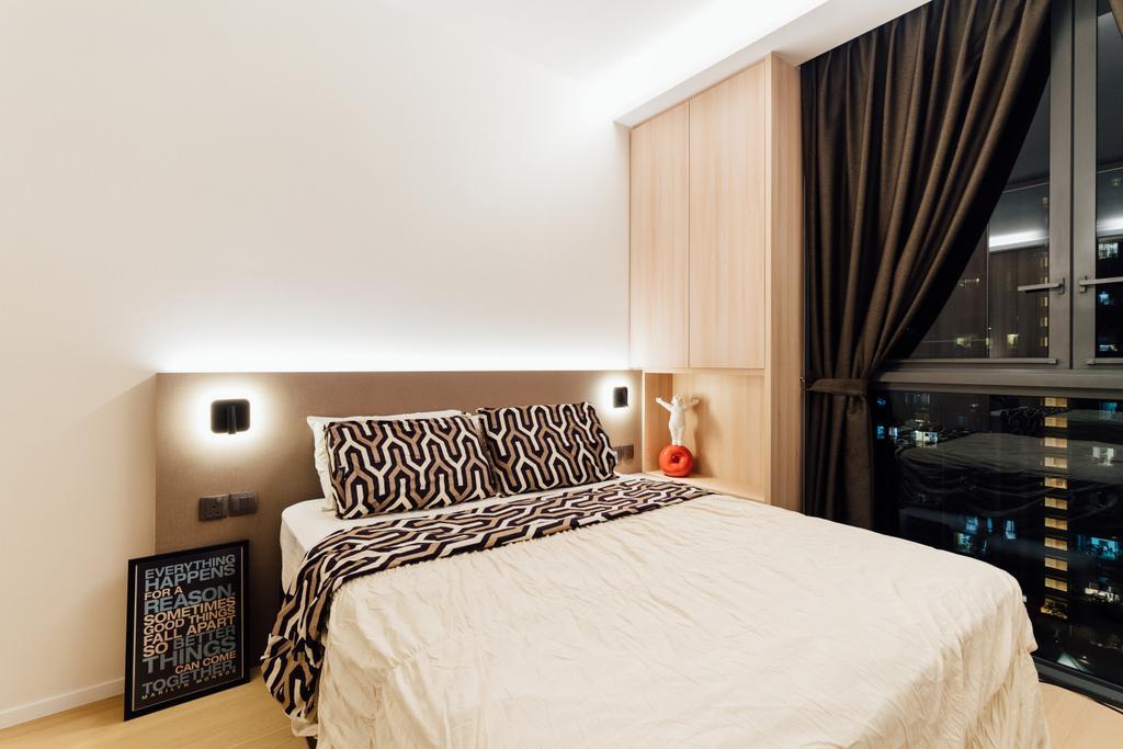 Contemporary, Condo, Bedroom, The Panorama, Interior Designer, Fineline Design
