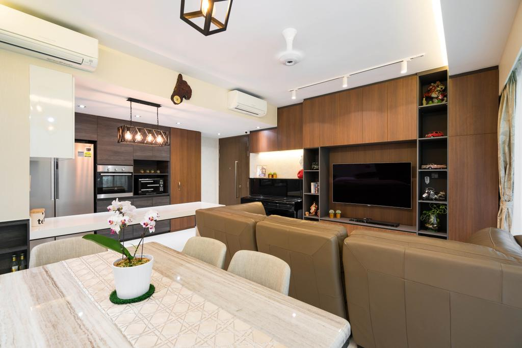 Contemporary, Condo, Dining Room, Bellewoods, Interior Designer, Fineline Design
