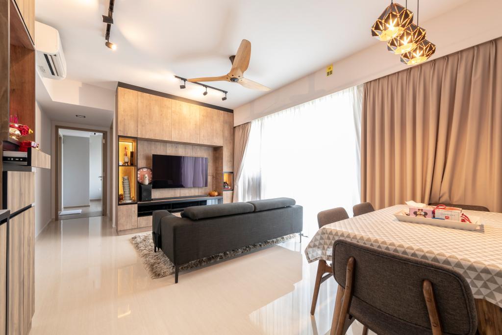Contemporary, Condo, Living Room, Sol Acres, Interior Designer, Silvotino Design