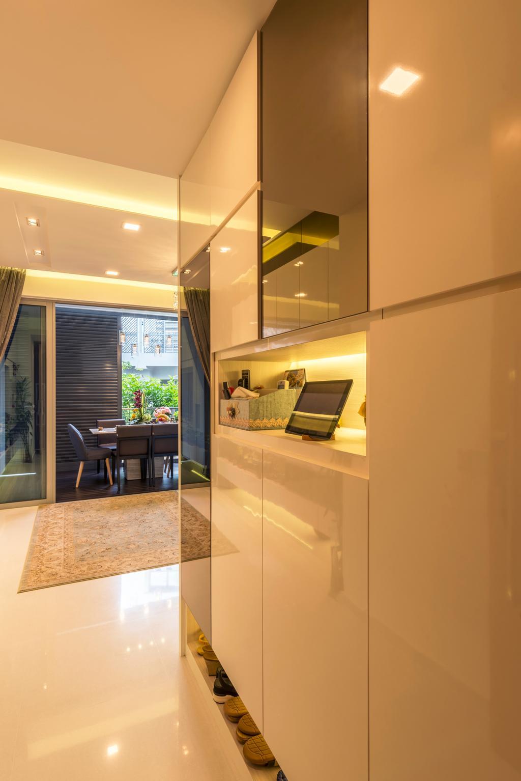 Contemporary, HDB, Bartley Bridge, Interior Designer, Silvotino Design