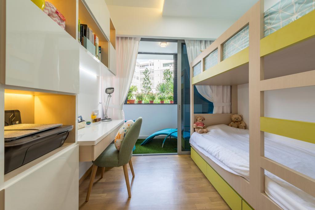 Contemporary, HDB, Bedroom, Bartley Bridge, Interior Designer, Silvotino Design
