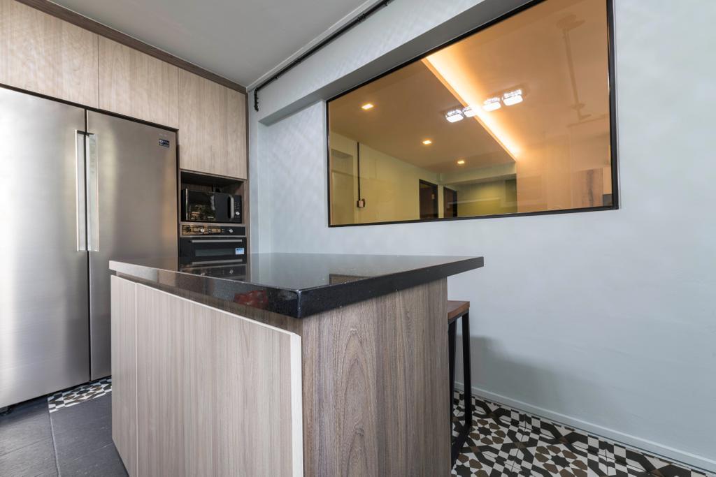 Contemporary, HDB, Simei Street 1, Interior Designer, Silvotino Design
