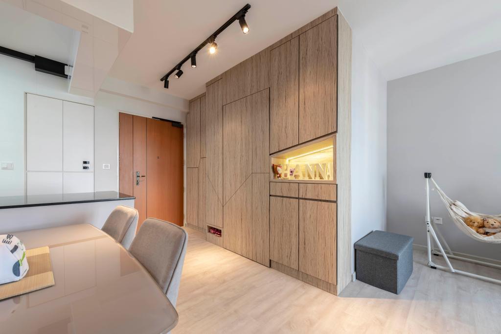 Contemporary, HDB, Living Room, Bedok North Street 4, Interior Designer, Silvotino Design
