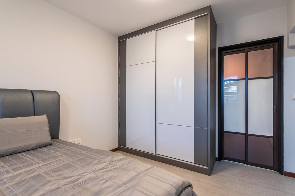 Contemporary, HDB, Bedroom, Fernvale Link, Interior Designer, Silvotino Design