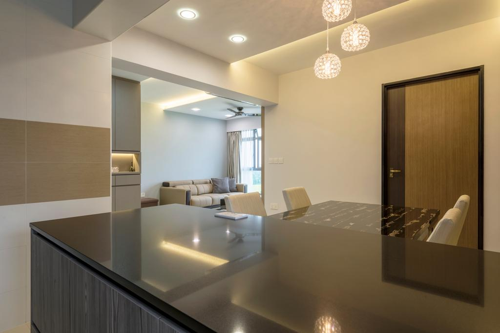 Contemporary, HDB, Edgedale Plains, Interior Designer, Silvotino Design