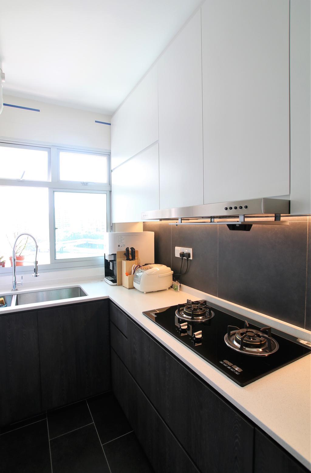 Contemporary, HDB, Kitchen, Clementi, Interior Designer, Intrigue-d Design Consultancy